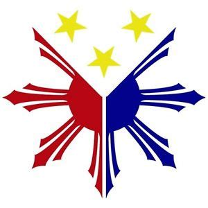 printable vinyl stickers philippines 3 color philippines flag sun star pinoy pinay custom vinyl