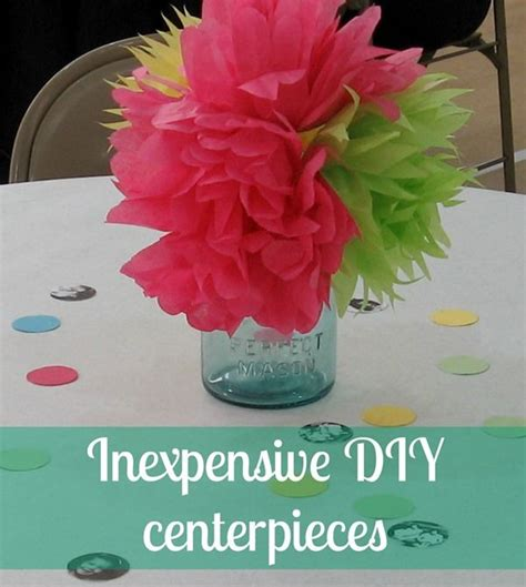 cheap table decorations cheap diy centerpieces diy centerpieces