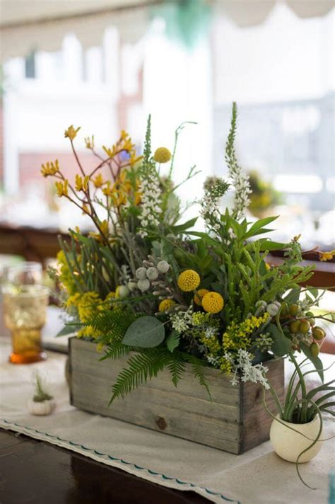 wood boxes for centerpieces 25 best rustic wooden box centerpiece ideas and designs