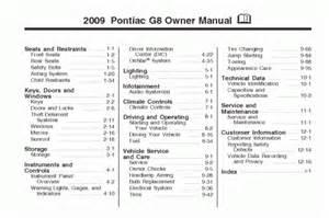 2009 Pontiac G6 Manual Pontiac G5 User Manual Pdf Manualslib 2016 Car