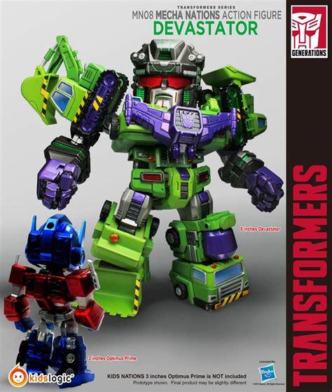 Nations Kidslogic Transformers toyzmag 187 logic mecha nations transformers