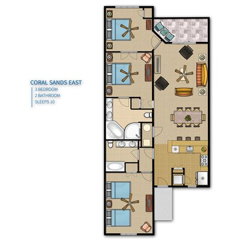 island resort floor plans island coral sands resort