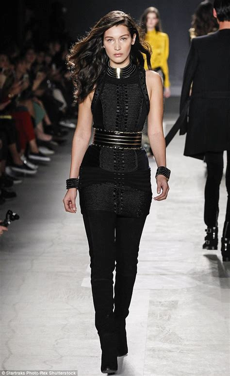 Catwalk Top 10 Vintage Part 2 by Hadid Hits The Balmain X H M Catwalk After Revealing