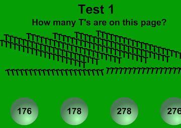 giochi test d gioco test di pazienza