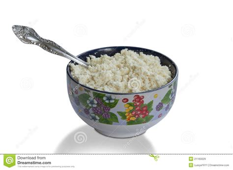 cup cottage cheese royalty free stock images image 21165629