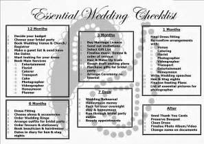 Simple Wedding Checklist Printable Planner » Home Design 2017