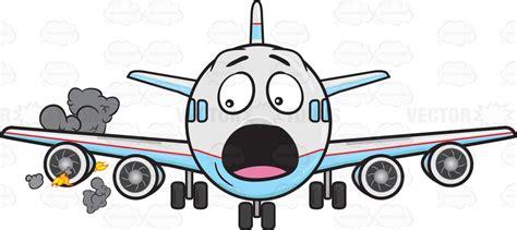 emoji engine startled jumbo jet plane panicking as engine catches fire