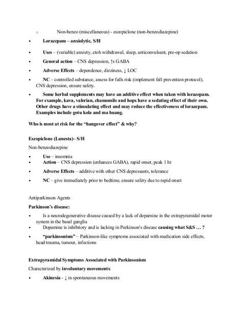 Serax Detox Protocol by Nursing And Pharmacology Topics 1 10