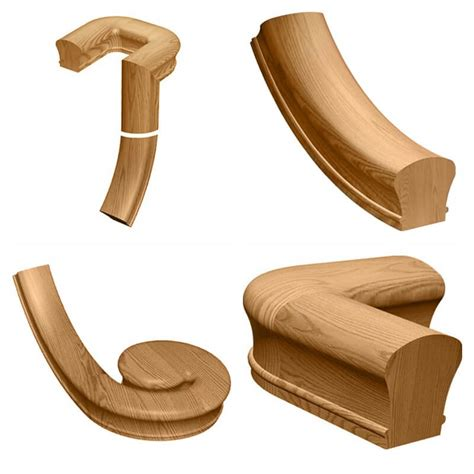 Wooden Banister Parts by Handrail Fittings Page 2 Of 2 Stair Parts