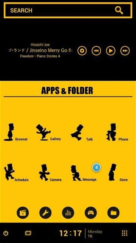 iphone 5 theme free android app android freeware buzz launcher smart free theme apk free android app