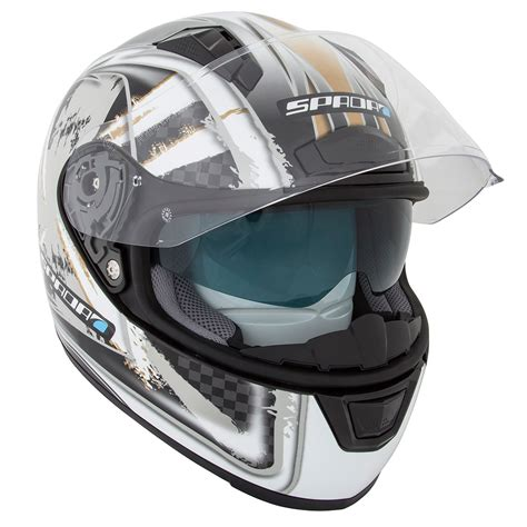 Mofa Helm spada arc patriot englische flagge grafik motorrad roller