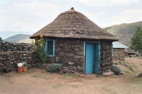 tradisionele xhosa hutte rondavel