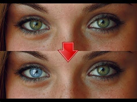 color results change your right eye colour to blue subliminal extremely