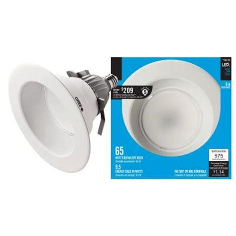 Gu24 Led L by Ecosmart 65w Equivalent Daylight 5000k 6 In Dimmable Led Downlight With Gu24 Base Eco 575l