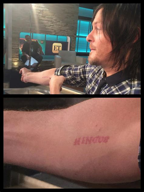 norman reedus tattoos nancy o dell on quot tough norman