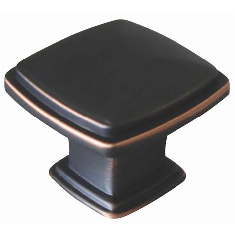 oil rubbed bronze cabinet knobs home depot design house park avenue 1 1 4 in oil rubbed bronze