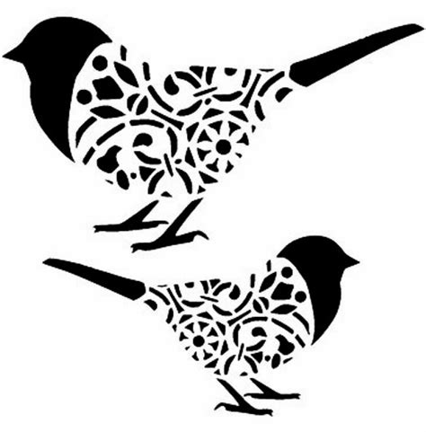 printable wall stencils birds pin by renchea strydom davies on stencils pinterest