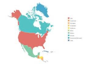 vector map america geo map of americas