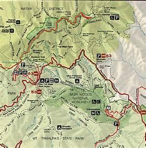 map of muir woods california trip report muir woods
