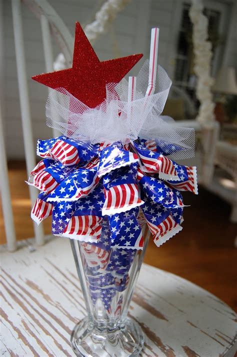 patriotic favor or decoration patriotic pinterest
