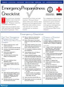 emergency response checklist template best photos of emergency response drill outline