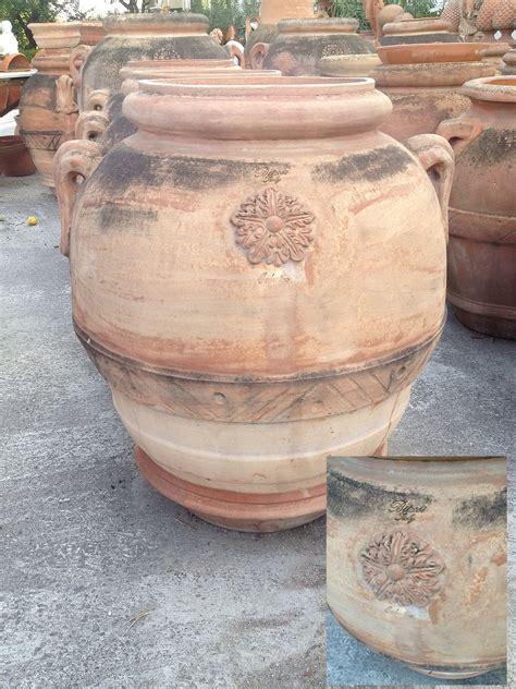 anfore da interno anfora orcio toscano montelupo in terracotta otm 460
