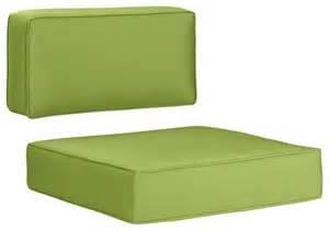 sunbrella kiwi modular lounge chair cushions modern outdoor cushions and pillows by crate