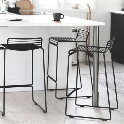 Black Bar Stool Chairs Hay Hee Bar Stool Black White Grey Army Racing Green