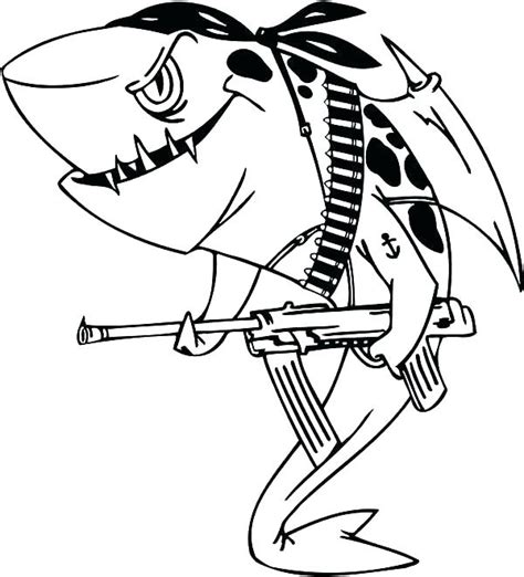 Magnificent Sharks Coloring Pages Printable Embellishment