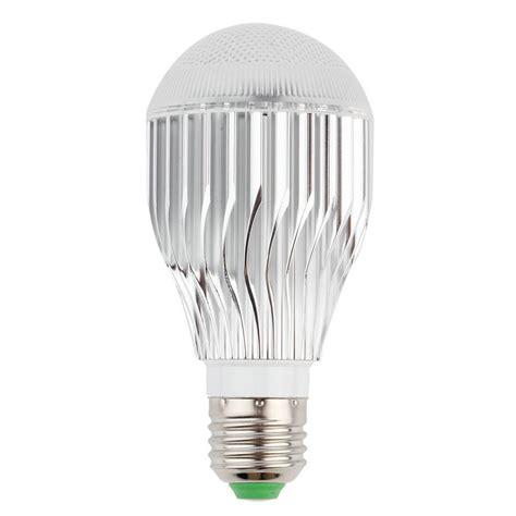 9w e27 multi color change rgb led light bulb l with