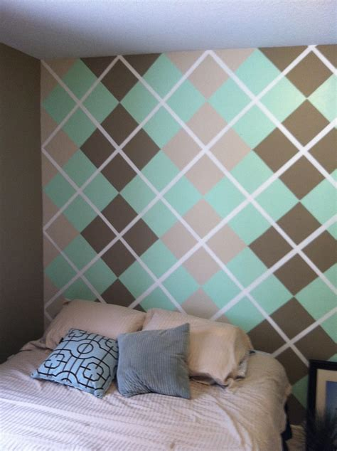 wall paint design ideas with tape paint design on the wall using painting tape my