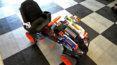 nerf battle racer nerf battle racer review and stress test youtube