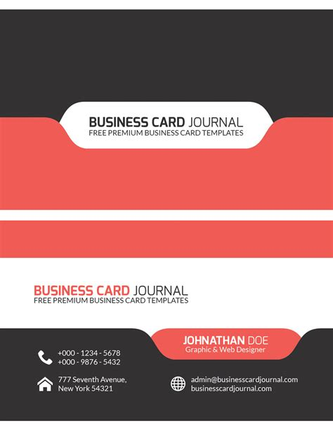 css business card template css 2014 100 free business cards psd