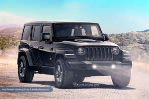 Wrangler Jeep 2018 Jeep Wrangler Redesign Release Date Diesel