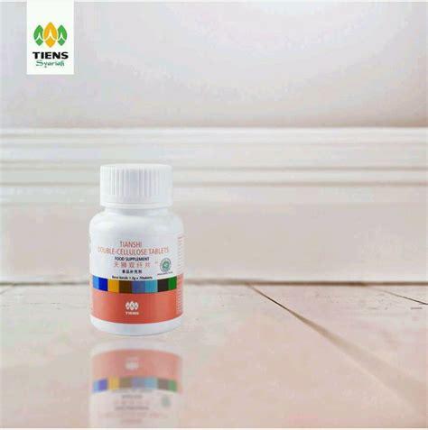 Cellulose Tablets Tablet Serat Ganda Tiens cellulose tiens serat ganda alami melancarkan