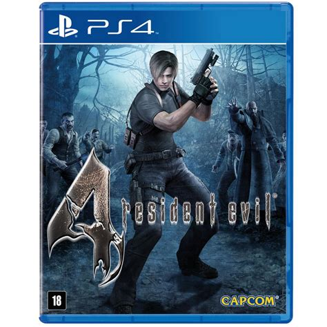 jogo resident evil 4 ps4 jogos playstation 4 no