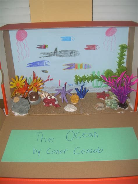 printable diorama pictures diorama ocean printable images