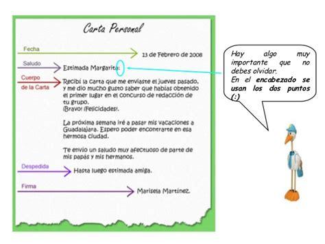 elementos de una carta formal e informal cartas formales e informales 1 ero