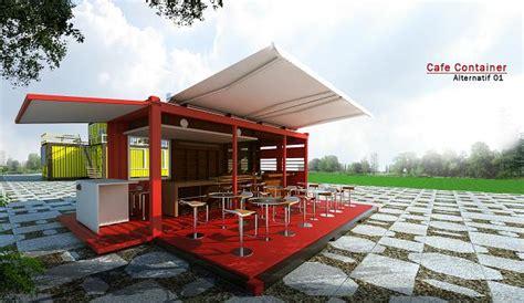 desain cafe unik murah product design konsep desain cafe container yang unik