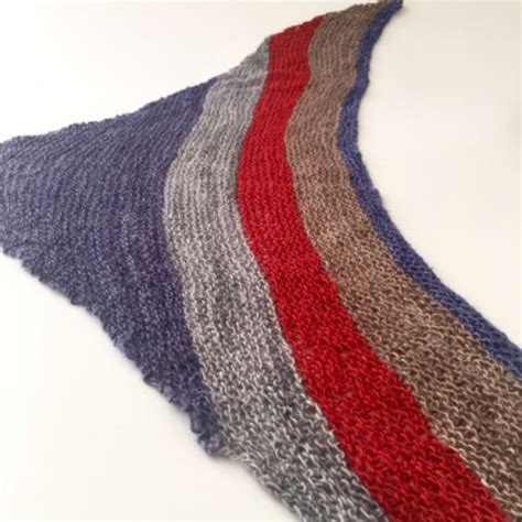 Knit Neckerchief on the 8th day of knit a neckerchief
