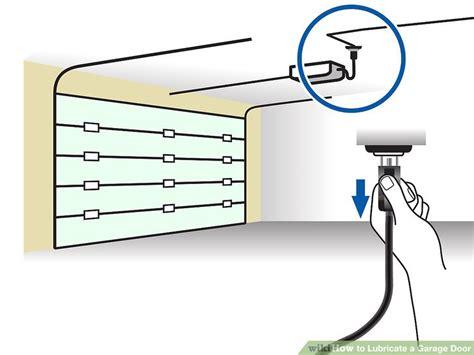 how to lubricate garage door how to lubricate a garage door 10 steps with pictures