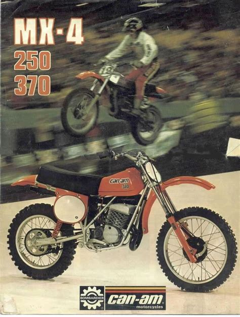 can am motocross bikes 1978 can am mx 4 vintage can am dirt bike ad vintage