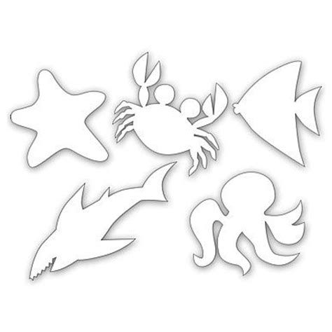printable ocean animal cutouts best photos of sea animal cut outs ocean animal cut outs