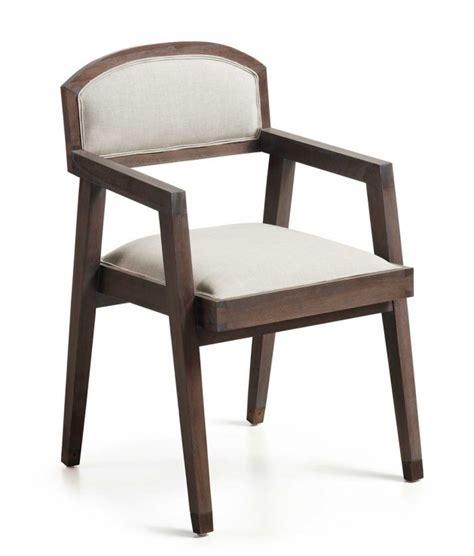 sillas de comedor con brazos comprar silla de comedor con brazos spartan tapizada en blanco