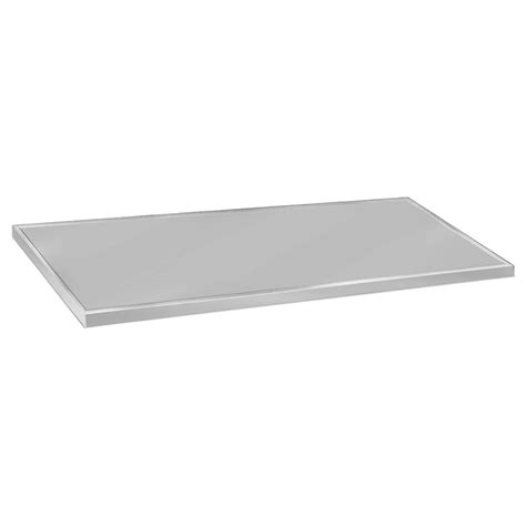 Flat Countertop by Advance Tabco Vctc 2410 Flat Countertop 25x120 Quot 16 Ga 304 Stainless Satin Finish