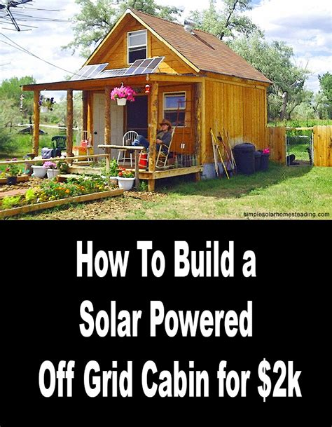 Solar Panels For Cabin by Grid Cabin Solar Systems Pics About Space