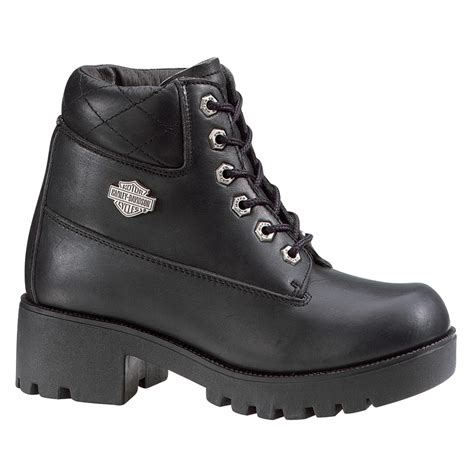 s harley davidson 174 cruise steel toe boots black 99578 casual shoes at