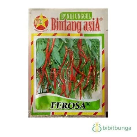 Benih Cabe Keriting jual benih cabe keriting ferosa 10 gram bintang asia bibit