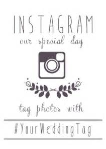 Wedding Signage Templates by Instagram Wedding Sign Generator