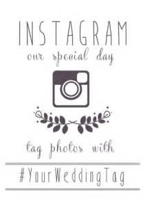 Wedding Sign Templates by Instagram Wedding Sign Generator